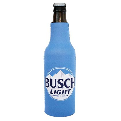 Busch Light New Logo Blue Beer Bottle Suit Cooler