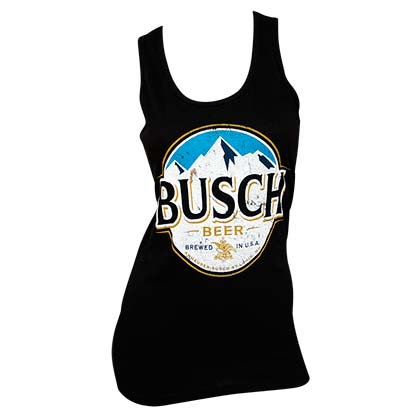 Busch Women's Black Tank Top