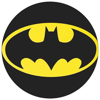 Batman Comic Classic Logo Button