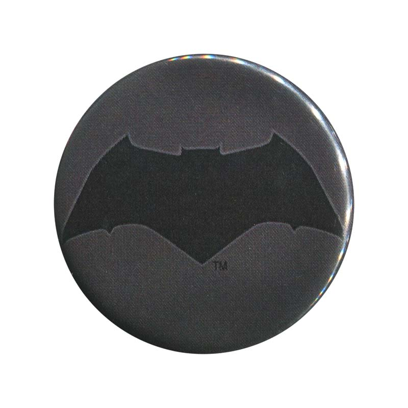 Batman V Superman Comic Batman Logo Button