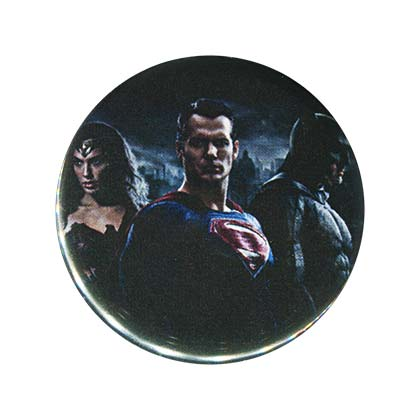 Batman V Superman Movie 3 Characters Button