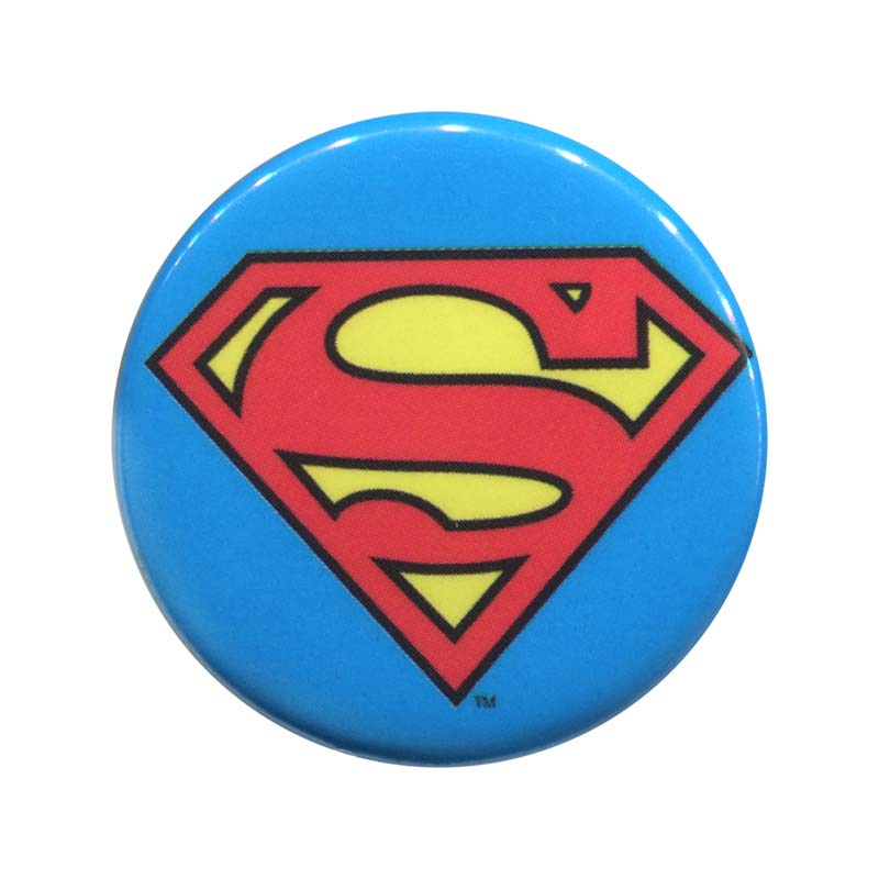 Superman Comic Classic Logo Button