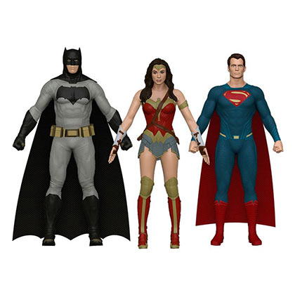 Batman V Superman & Wonder Woman 3 Figurine Toy set