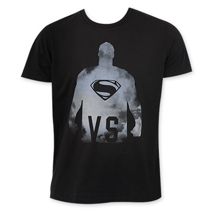 Junk Food Men's Batman v Superman VS Black T-Shirt