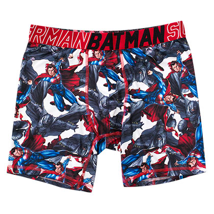 Batman V Superman Comic Dawn Of Justice Performance Boxer Briefs