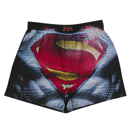 Batman V Superman Comic Superman Boxer Shorts