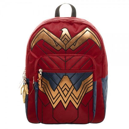 Batman VS Superman Wonder Woman Red Backpack