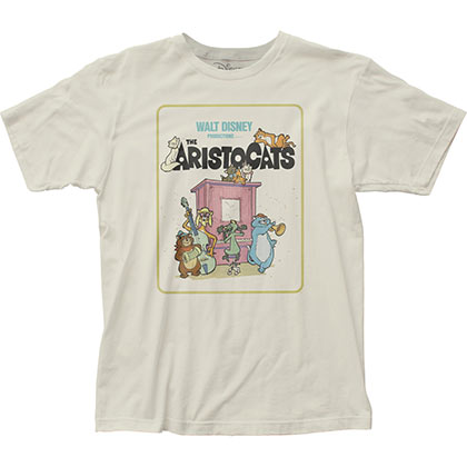 Aristocats Movie Poster Tshirt