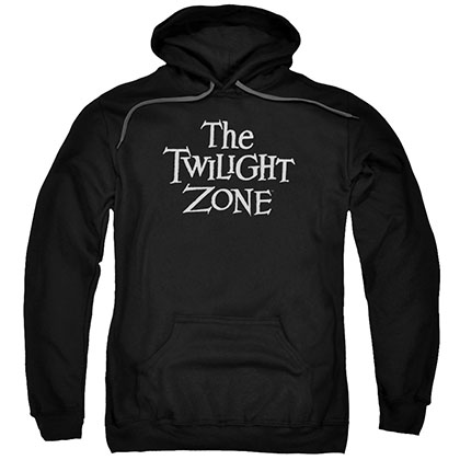 Twilight Zone Logo Black Pullover Hoodie