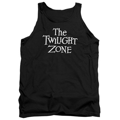 Twilight Zone Logo Black Tank Top