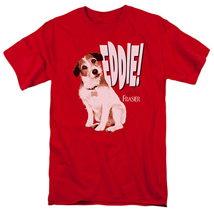 Frasier Eddie Red T-Shirt