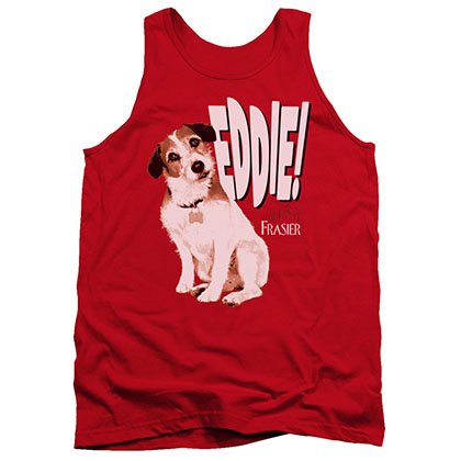 Frasier Eddie Red Tank Top