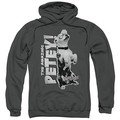 Little Rascals Amazing Petey Gray Pullover Hoodie