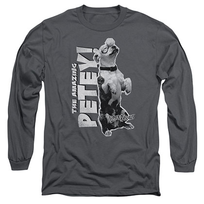 Little Rascals Amazing Petey Gray Long Sleeve T-Shirt