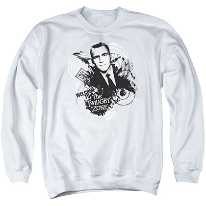 Twilight Zone Welcome To White Crew Neck Sweatshirt