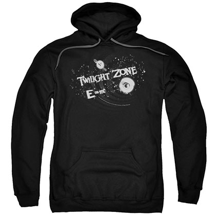 Twilight Zone Another Dimension Black Pullover Hoodie