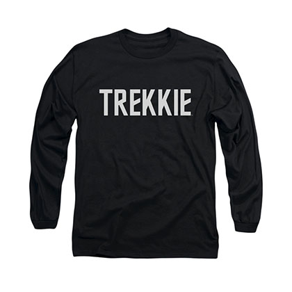 Star Trek Trekkie Black Long Sleeve T-Shirt