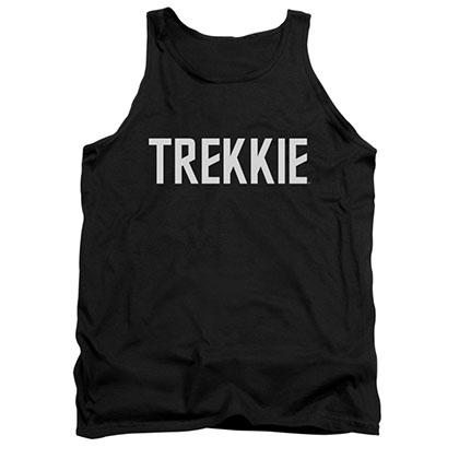 Star Trek Trekkie Black Tank Top