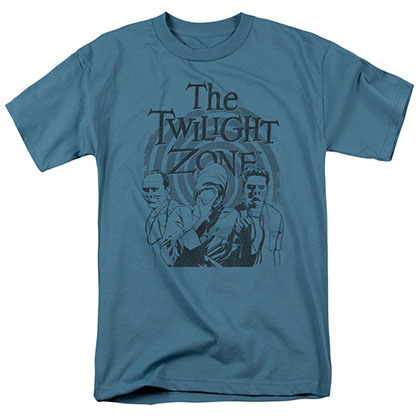 Twilight Zone Beholder Blue T-Shirt