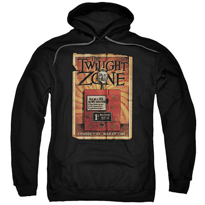 Twilight Zone Seer Black Pullover Hoodie
