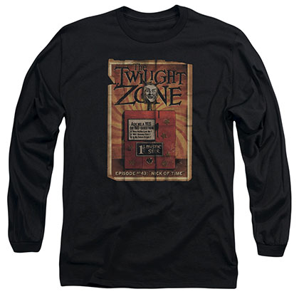 Twilight Zone Seer Black Long Sleeve T-Shirt
