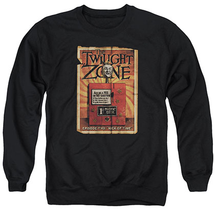 Twilight Zone Seer Black Crew Neck Sweatshirt