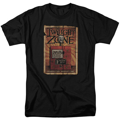 Twilight Zone Seer Black T-Shirt