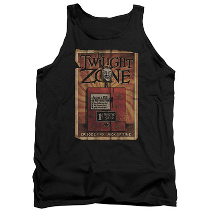 Twilight Zone Seer Black Tank Top
