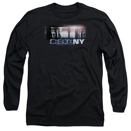 CSI: NY Subway Black Long Sleeve T-Shirt