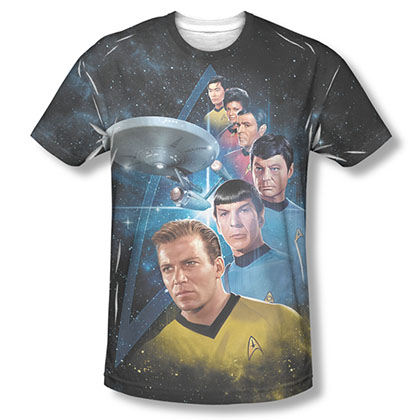 Star Trek Among The Stars Sublimation T-Shirt