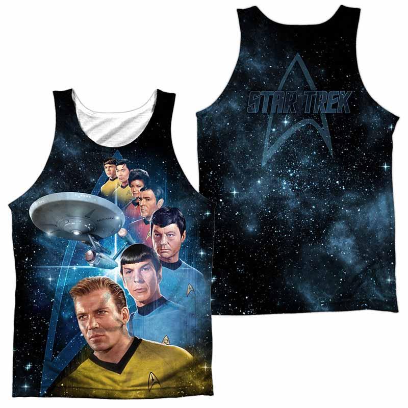 Star Trek Among The Stars Sublimation Tank Top