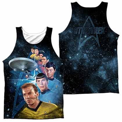Star Trek Among The Stars Sublimation Tank Top