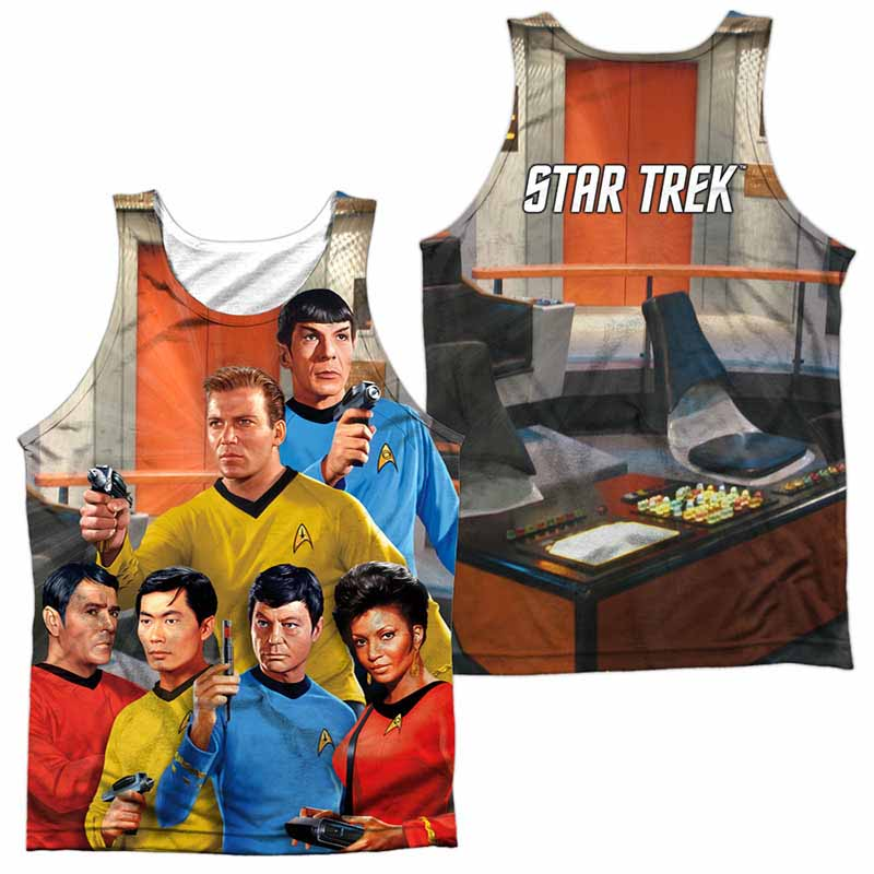 Star Trek Bridge Sublimation Tank Top