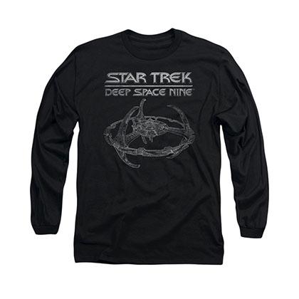 Star Trek Deep Space Nine Black Long Sleeve T-Shirt