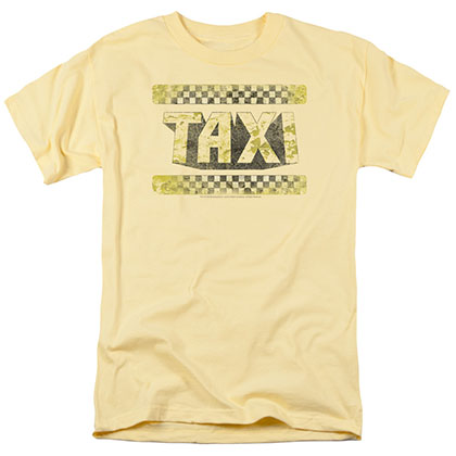 Taxi Run Down Taxi Yellow T-Shirt