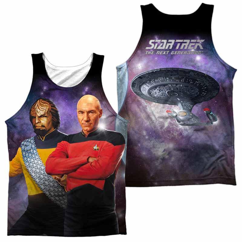 Star Trek Tng Sublimation Tank Top