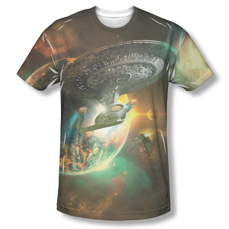 Star Trek Battleships Sublimation T-Shirt