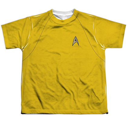 Star Trek Original Yellow Youth Costume Tee