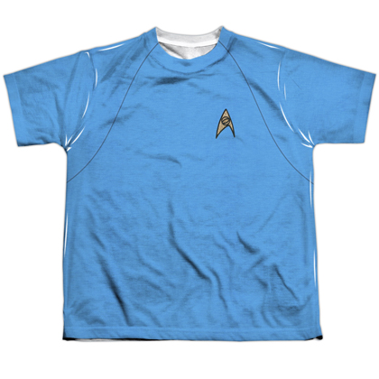 Star Trek Original Blue Youth Costume Tee