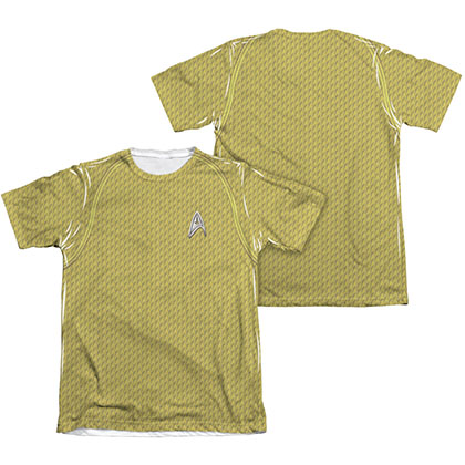 Star Trek Movie Command Two-Side Costume Sublimation T-Shirt