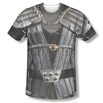 Star Trek Klingon Uniform Costume Sublimation T-Shirt