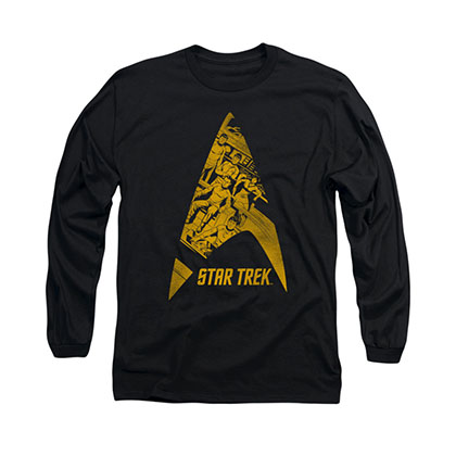 Star Trek Delta Crew Black Long Sleeve T-Shirt