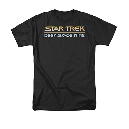 Star Trek Deep Space Nine Black Tee Shirt