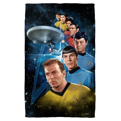 Star Trek Crew Beach Towel