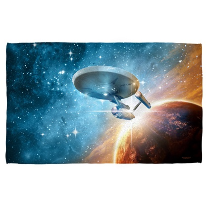 Star Trek Enterprise Beach Towel