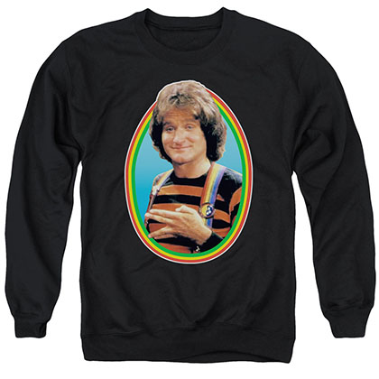 Mork & Mindy Mork Black Crew Neck Sweatshirt