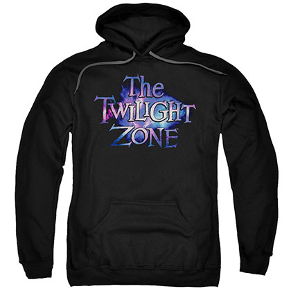 Twilight Zone Twilight Galaxy Black Pullover Hoodie