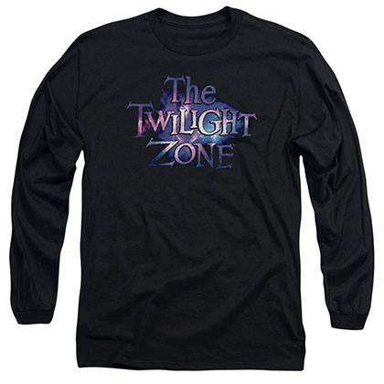 Twilight Zone Twilight Galaxy Black Long Sleeve T-Shirt