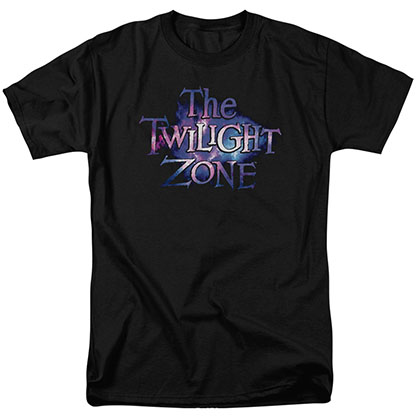 Twilight Zone Twilight Galaxy Black T-Shirt