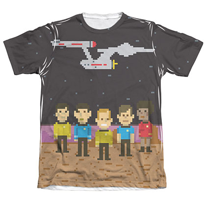 Star Trek Pixel Crew Sublimation T-Shirt